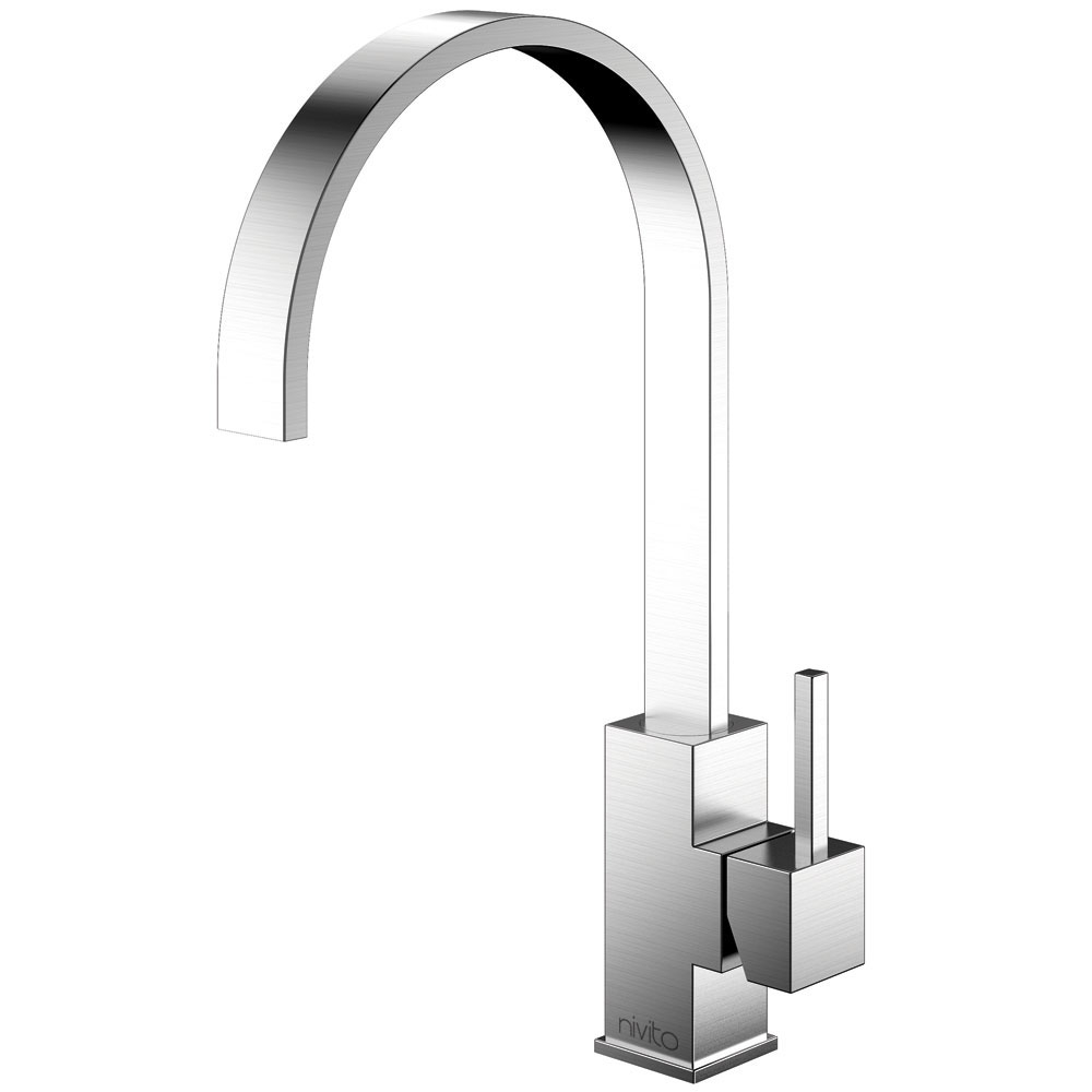 Stainless Steel Kitchen Faucet - Nivito RE-100