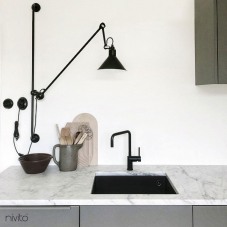 Kitchen faucet black