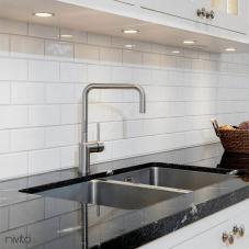 Stainless Steel Kitchen Faucet - Nivito 2-RH-300