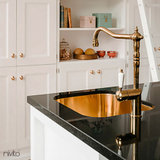 Copper Kitchen Faucet - Nivito 2-CL-170