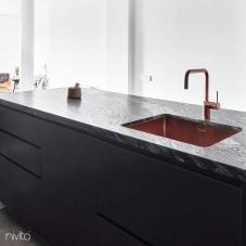 Copper Kitchen Faucet - Nivito 2-RH-350