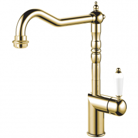 Brass/gold Kitchen Faucet - Nivito CL-160