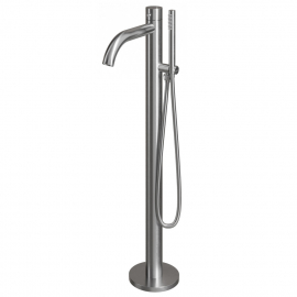 Stainless Steel Stand Alone Bathtub Faucet - Nivito CR-10