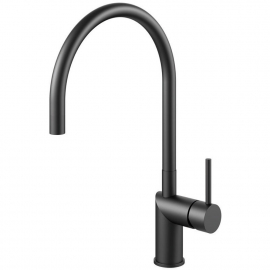 Black Kitchen Faucet - Nivito RH-120
