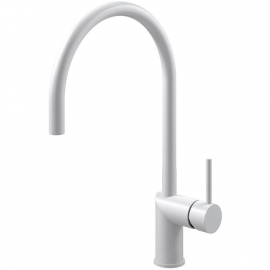White Kitchen Faucet - Nivito RH-130