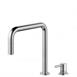 Stainless Steel Kitchen Faucet Pullout hose / Seperated Body/Pipe - Nivito RH-300-VI