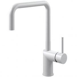 White Kitchen Faucet - Nivito RH-330