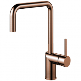 Copper Single Hole Kitchen Faucet - Nivito RH-350