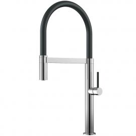 Kitchen Faucet Pullout hose / Polished/Black - Nivito SH-210